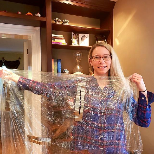 April 2020 - Dr. Natalie Kreitzer with PPE